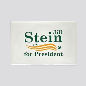 Jill Stein For President Rectangle Magnet